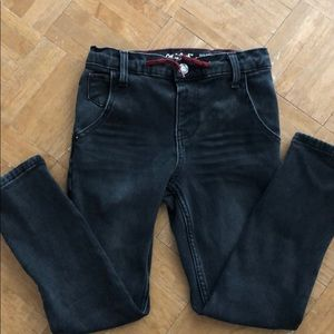 Boys flannel lined jeans 7
